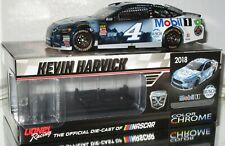 2018 Kevin Harvick #4 BUSCH LIGHT/MOBIL 1 COLOR CHROME 1/24 car#10/72 AWESOME