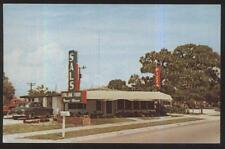 POSTCARD SARASOTA FL/FLORIDA SAL'S ITALIAN RESTAURANT 1950'S