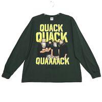Duck Dynasty Crew Neck Tee T-Shirt Mens Size XL Black Long Sleeve Cotton