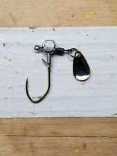 1/16 oz Unpainted spinner jig 20ct w/#2 Bronze Eagle Claw Lil' Nasty hook