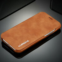For iPhone X 8 7 6s Plus Luxury Ultra Thin Leather Wallet Stand Flip Case Cover