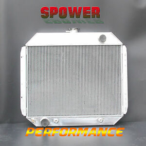 Aluminum Radiator For Ford F100 F250 F350 F-Series Truck Bronco V8 1968-1979