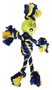 Petsport Twisted Chew Mini Rasta Man Dog Toy Rasta Man with Tennis Ball