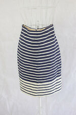 """J Crew"" Size 6 - Stylish Ladies Striped Skirt. Perfect! Bargain Price!"