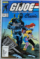G.I. JOE #63 (1987) Marvel 3rd Print SO MUCH FUN Variant RARE Scarce HTF