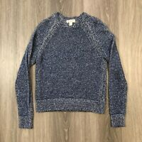 Brooks Brothers Womens XS Red Fleece Blue Sweater