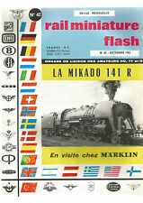 RMF N° 42 LA MIKADO 141R / MARKLIN / LE DECOR / LES VOIES PARALLELES