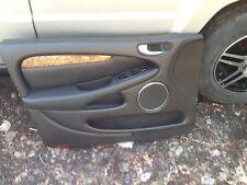 02-08  JAGUAR X-Type Black Left Front Door Panel Driver  V5