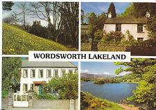Cumbria Postcard - Views of Wordsworth Lakeland    AB1655