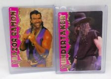Vintage The Undertaker & Razor Ramon Action Packed Gold Wrestling Card lot 2