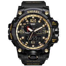 SMAEL Men Sport Watch Dual Display Digital LED Electronic Male Quartz Wristwatch