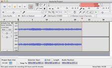 Audacity® Audio Editing Studio Pro Music Sound Record Edit Software Windows PC