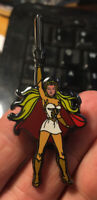 She Ra enamel pin retro 80s cartoon He Man hat lapel bag princess TV anime hero