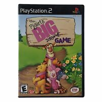 Disney Presents Piglet's BIG Game (Sony PlayStation 2, 2003) Complete w/Manual