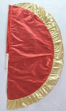 Red/Gold  Angel's Wing Flag with Pole - Christian Worship Dance