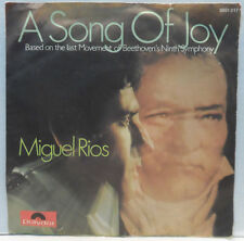 "Miguel Rios - A Song Of Joy / No Sabes Como Sufri 7"" 1970 Germany pop Beethoven"