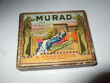 Murad Cigarette Box Turkish Cigarette Box Empty Murad Box Antique Box