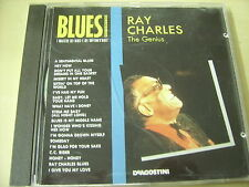 CD  Ray Charles  The Genius - editoriale i maestri del Blues