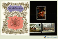 1967 British Painters Stamps in Presentation Pack PP18 - Royal Mail Pack