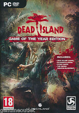 DEAD ISLAND GOTY EDITION Bloodthirsty zombies for PC SEALED NEW
