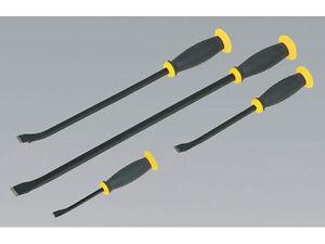 SEALEY SIEGEN IMPACT HAMMER HEAD 4 PIECE PRY BAR CROWBAR TOOL SET 200mm > 610mm