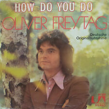 """7"""" 70s COVER VERSIONE! Oliver Freytag How do you do/VG + \"""