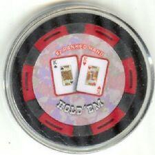 Pair of Kings #2 ranked poker chip Card Guard Protector