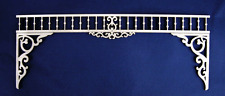 Dollhouse Miniature 1:12 Scale Victorian Fretwork Divider