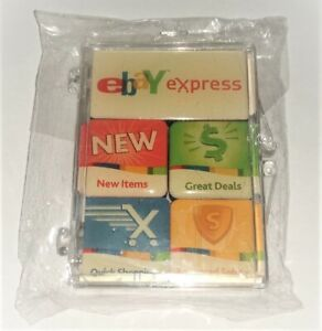 EBay Express Live Promo Set Of Magnets - NEW still in Original Plastic Wrapping