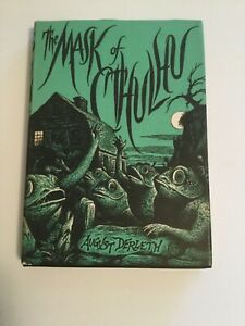 The Mask of Cthulhu by August Derleth 1st Edition Arkham House 1958 VG