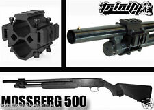 Mossberg 500/590/Maverick 88 accessories Mount weaver rail Black.