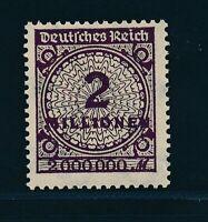 DT. REICH 1923, Mi. 315 b **, Farbabart geprüft INFLA!! Mi. 100,--!!