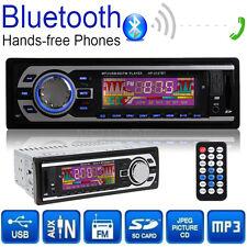 In-Dash Car Stereo MP3/USB/SD Player Radio Audio FM AUX Bluetooth Remote Control