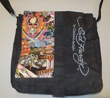 ED HARDY by Christian Audigier LARGE MESSENGER BAG 729983e67e033