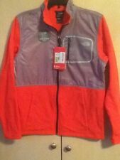 NWT THE NORTH FACE BOYS XL (18-20) PERIL GLACIER TRACK JACKET FIERY RED