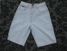 VTG NWT Tommy Hilfiger Denim Carpenter Shorts Pale Blue Flag New Unworn jean