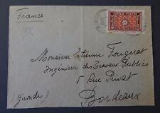 TUNISIE - enveloppe  1948