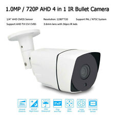CCTV security 1MP/720P AHD/TVI/CVI/CVBS 4in1 D/N HD IR Outdoor Bullet IP Camera