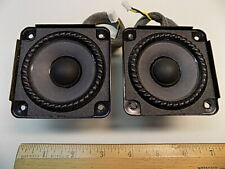 "Lot of (2) Bose SoundDock 2-3/4"" / SoundDock Portable Micro Speaker Pair"