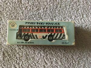 ASC Hino Bus - African Lion Safari - Scale 1/100 - Boxed