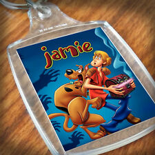 Personalised SCOOBY DOO KEYRING, Lunch Bag, son daughter grandson nephew niece