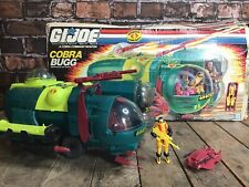 GI Joe Cobra BUGG 1988 ARAH HASBRO w/ Original Box & Secto-Viper