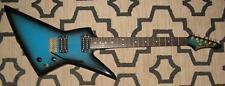 1980's Vintage ARIA PRO II ZZ Deluxe Electric Guitar blueburst - Matsumoku Japan