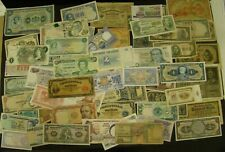 FOREIGN CURRENCY LOT of 68 Mixed World Paper Notes OVER $130 Catalog Value CHINA