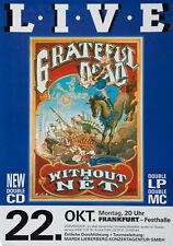 More details for the grateful dead concert window poster - frankfurt 1990 - rock band reprint