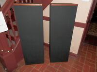 VANDERSTEEN MODEL 3 TOWER FLOOR MODEL SPEAKERS WITH STANDS MN condition