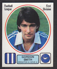 Panini - Football 82 - # 62 Gordon Smith - Brighton