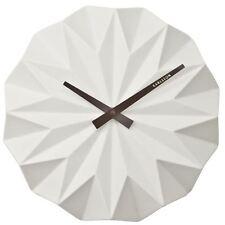 Karlsson Origami Original Ceramic Wall Clock White KA5531WH