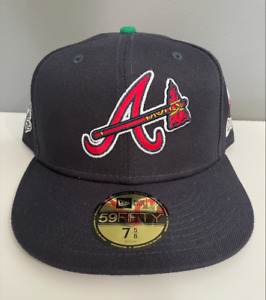 New Era Offset Migos 59Fifty Atlanta Braves The Icon Exclusive Fitted Hat 7 5/8