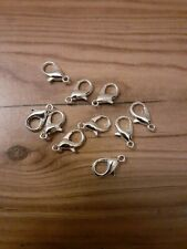 Wholesale joblot 20 lobster clips clasps for charms uk seller jewellery